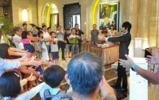 藍羽毛魔術娛樂 | 魔術表演 | 尾牙春酒 | 尾牙表演 | 節慶活動 | 手影表演 | 手影 | 魔術師 | 客製化魔術設計